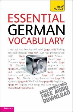 Essential German Vocabulary: Teach Yourself (eBook, ePUB) - Kahlen, Lisa