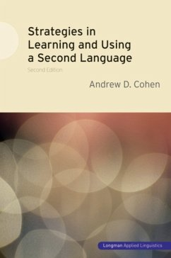 Strategies in Learning and Using a Second Language - Cohen, Andrew D.