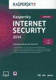 Kaspersky Internet Security 2014 - 1 PC/1 Jahr - Upgrade