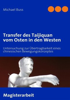 Transfer des Taijiquan vom Osten in den Westen (eBook, ePUB)
