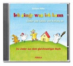 Ich singe was ich kann, 1 Audio-CD