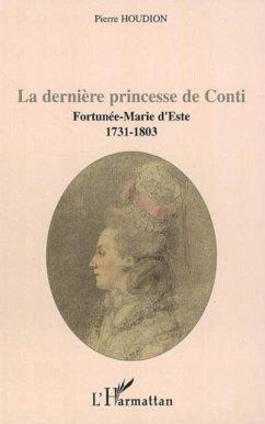 Derniere princesse de conti (eBook, PDF)