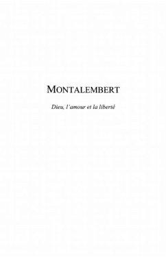 Montalembert - dieu, l'amour et la liberte (eBook, PDF)