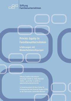 Private Equity in Familienunternehmen (eBook, ePUB)