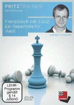 Französisch mit 3. Sd2: Ein Repertoire für Weiß, DVD-ROM