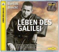 Leben des Galilei, 3 Audio-CDs - Brecht, Bertolt