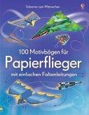 100 Motivbögen für Papierflieger