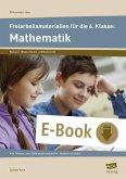 Freiarbeitsmaterialien f. d. 6. Klasse: Mathematik (eBook, PDF)