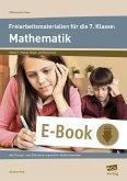 Freiarbeitsmaterialien f. d. 7. Klasse: Mathematik (eBook, PDF)