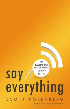 Say Everything (eBook, ePUB) - Rosenberg, Scott