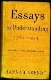 Essays in Understanding, 1930-1954 (eBook, ePUB)