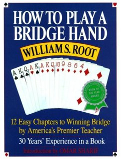 How to Play a Bridge Hand (eBook, ePUB) - Root, William S.