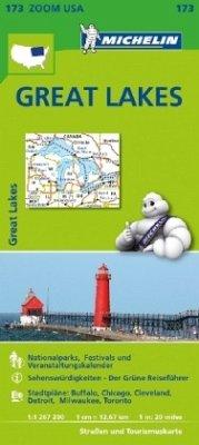 Michelin Karte Great Lakes