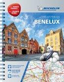 Michelin Straßen- und Reiseatlas Benelux
