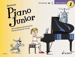 Piano Junior: Konzertbuch - Heumann, Hans-Günter
