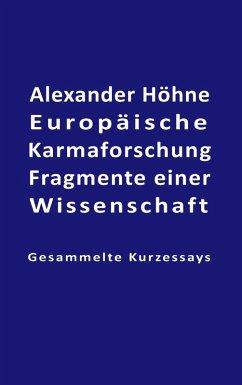 Europäische Karmaforschung (eBook, ePUB)