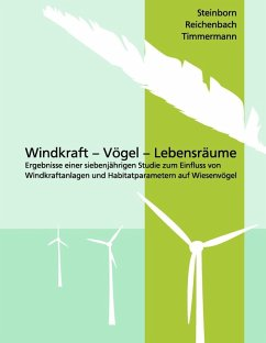 Windkraft - Vögel - Lebensräume (eBook, ePUB)