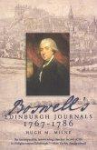 Boswell's Edinburgh Journals (eBook, ePUB)