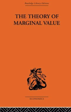 The Theory of Marginal Value (eBook, PDF) - Birck, L. V.