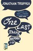 One Last Thing Before I Go (eBook, ePUB)