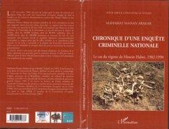 Chronique d'une enquete criminelle natio (eBook, PDF)