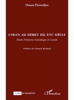 L'iran au debut du xvie siEcle - etude d'histoire economique (eBook, PDF)
