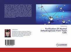 Purification Of Alcohol Dehydrogenase From Yeast Cells