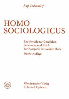 Homo Sociologicus - Dahrendorf, Ralf