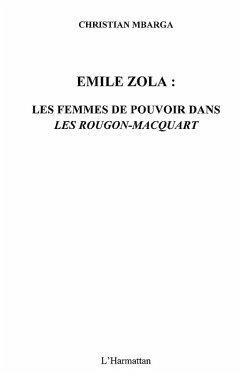 Emile zola : les femmes de pouvoir dans &quote;les rougon-macquart (eBook, ePUB)