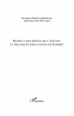 Respect des droits de l'enfant et pratiques educatives en eu (eBook, PDF)