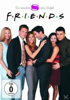 Friends - Die komplette Staffel 08 (4 Discs)
