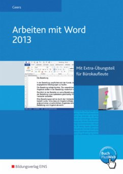 Arbeiten mit Word 2013