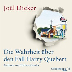 Die Wahrheit über den Fall Harry Quebert (MP3-Download) - Dicker, Joël