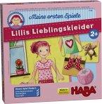 HABA 7129 - Meine ersten Spiele, Lillis Lieblingskleider, Memospiel, Legespiel