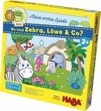 Wo sind Zebra, Löwe & Co? (Kinderspiel)