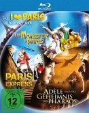 Ein Monster in Paris / Paris Express / Adèle und das Geheimnis des Pharaos (3 Discs)