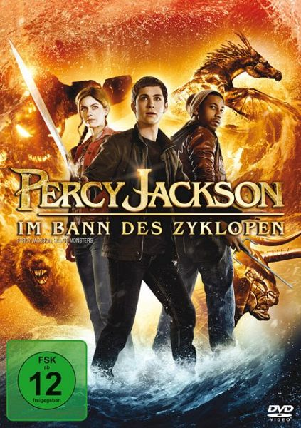 percy jackson im bann des zyklopen auf dvd portofrei. Black Bedroom Furniture Sets. Home Design Ideas