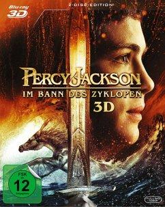 Percy Jackson - Im Bann des Zyklopen (Blu-ray 3D, 2 Discs)