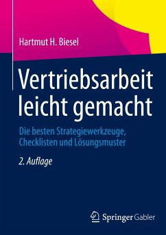 Vertriebsarbeit leicht gemacht - Biesel, Hartmut
