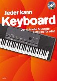 Jeder kann Keyboard, m. Audio-CD