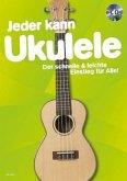 Jeder kann Ukulele, m. Audio-CD