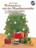 Weihnachten mit der Mundharmonika, m. Audio-CD