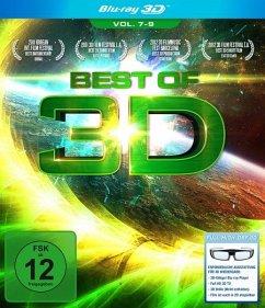 Best of 3D - Vol. 7-9 (Blu-ray 3D)
