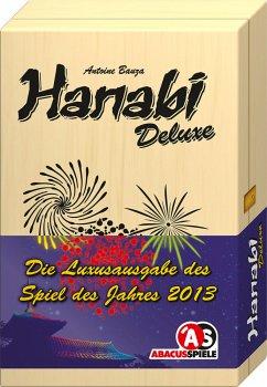 Abacus ABA04134 - Hanabi Deluxe, Familienspiel