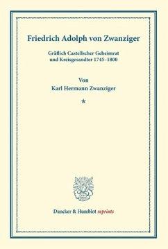 Friedrich Adolph von Zwanziger - Zwanziger, Karl Hermann