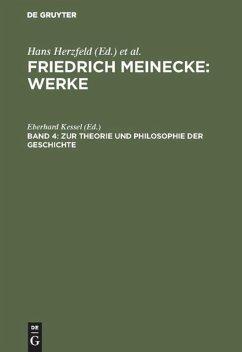 Zur Theorie und Philosophie der Geschichte