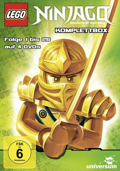 Lego Ninjago Komplettbox Folge 1 26 Dvd Box Auf Dvd Portofrei Bei Bucher De