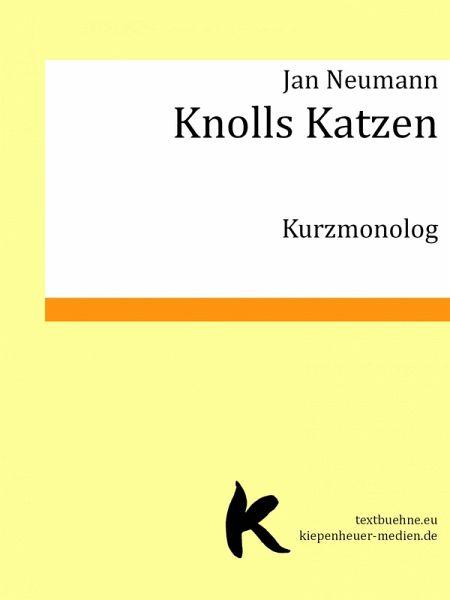 Knolls Katzen (eBook, ePUB) - Neumann, Jan