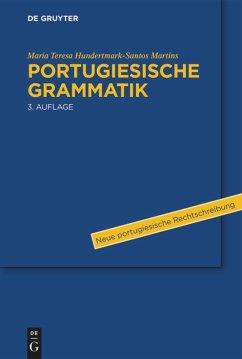 Portugiesische Grammatik - Hundertmark-Santos Martins, Maria T.