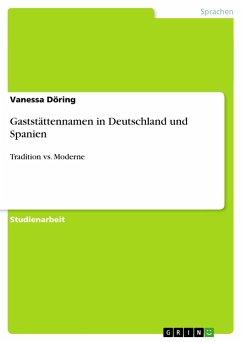 Gaststättennamen in Deutschland und Spanien